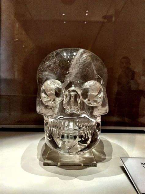 british museum crystal skull  crystal tree