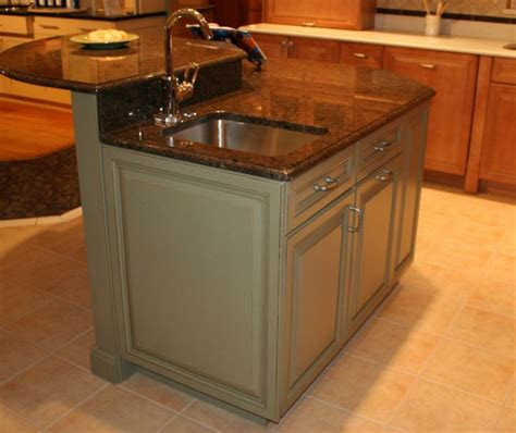 kitchen island with and dishwasher pin by kitchen bath cabinets design on kitchen islands