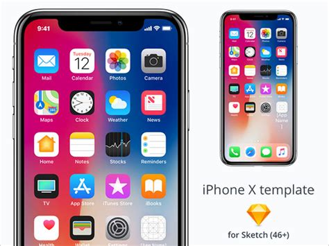 iphone app logo template 70 free apple iphone x sketch psd mockup templates