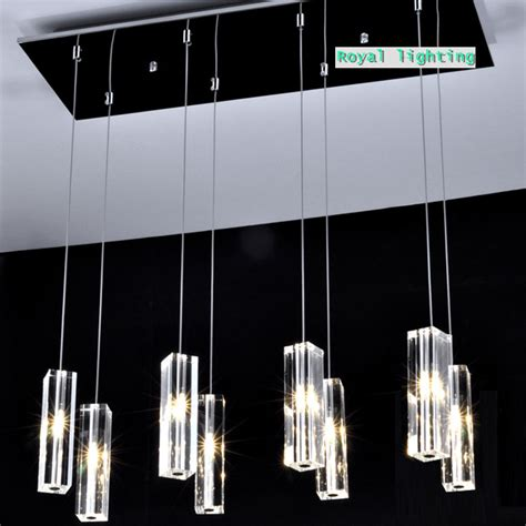 led pendant lighting for kitchen large dining room led pendant ls 8 lights big