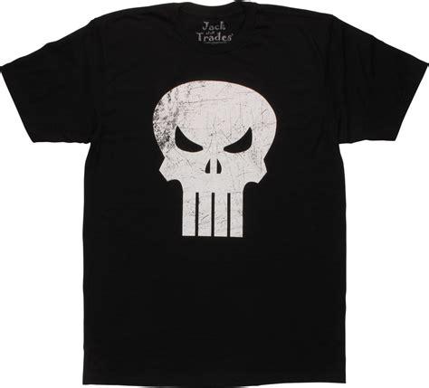 T Shirt Punisher Logo punisher scratched logo t shirt