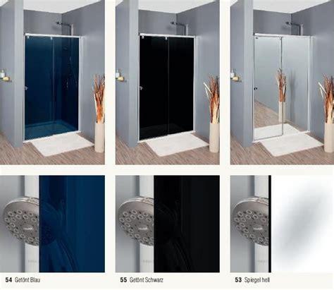 schiebet r glas fishzero dusche pendelt r glas verschiedene design