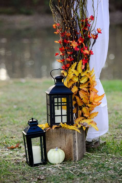 outdoor fall decorations 50 fall lanterns for outdoor and indoor d 233 cor digsdigs