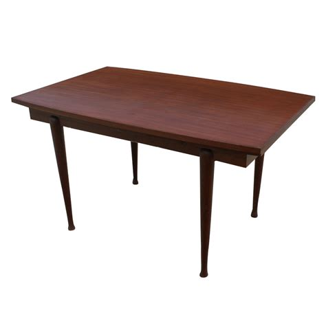 vintage danish mahogany dining extension table ebay