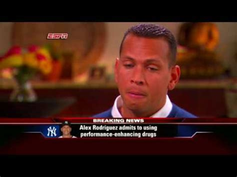 a rod admits regrets use of peds alex rodriguez admits a rod admits using steroids youtube