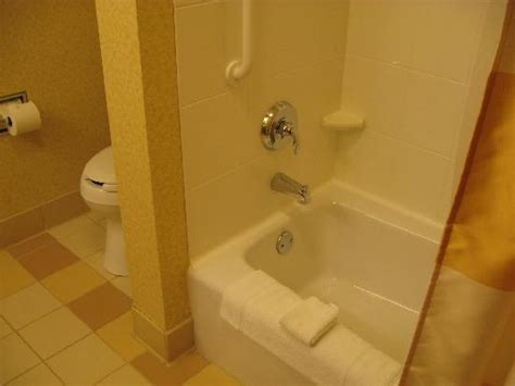 2 Bedroom Suites In Chicago by Bathtub Shower Picture Of Fairfield Inn Amp Suites State