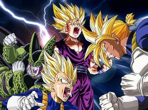 imagenes sagas epicas dragonball z raging blast 2 cell saga youtube