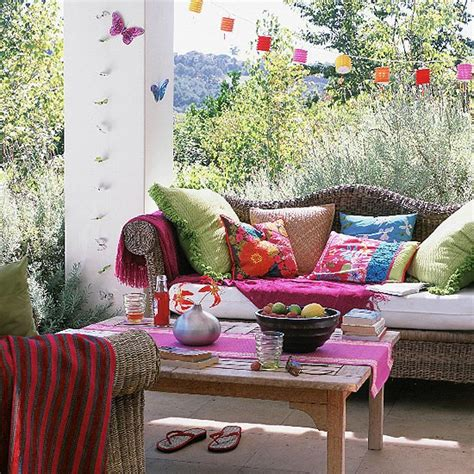 outdoor sitting area ideas colourful garden seating area housetohome co uk