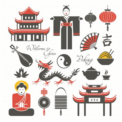 Chinese Design Elements Vector | 15 of the chinese design elements vector material fifteen