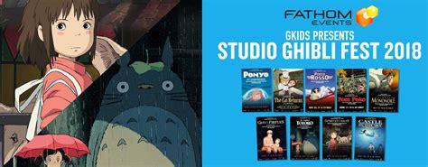 ghibli film express studio ghibli fest 2018