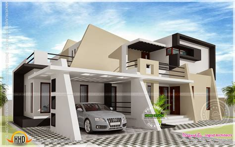 modern contemporary 316 square meter contemporary home home kerala plans