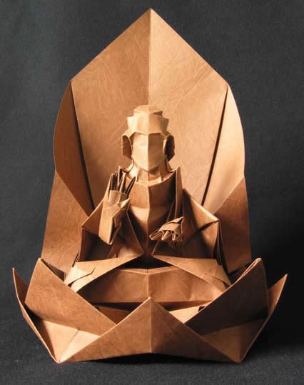 Origami Foot - origami 15 most amazing paper sculptures oddee