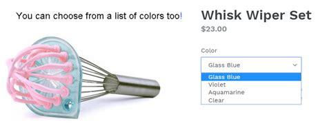 whisk wiper whisk wiper keeps your whisk clean and no more product waste