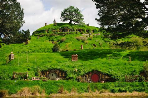 Berm House by Tour The Hobbiton Movie Set In Matamata New Zealand