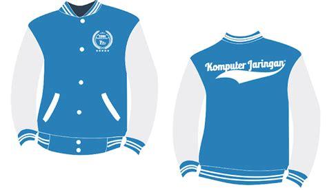desain jaket tkj desain jaket jurusan tkj jaket varcity logo tkj terbaru