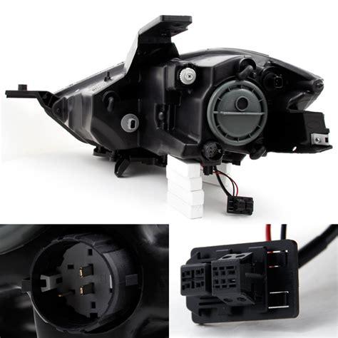 Lu Hid Type 2 13 15 dart hid type black projector headlights ls left