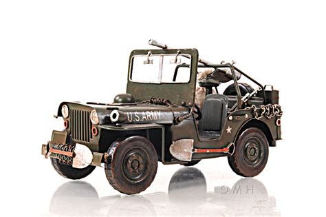 1940 Willys Jeep 1940 Willys Overland Jeep Model By Modern Handicrafts