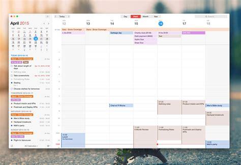 calendar design software for mac the best calendar app for mac the sweet setup