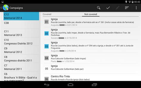 Congregation Publisher Record Card Template by Congregation Territories 3 37 Apk Android