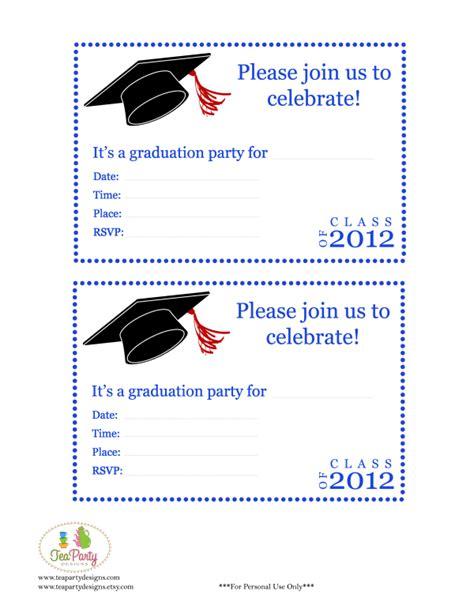 print graduation announcements template invitation