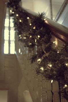 Lighted Garland For Staircase by Deck The Halls On Pinterest Banisters Garlands And