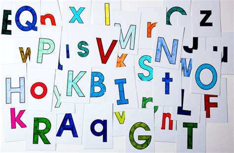 Letter Card Letter Cards Make Your Own Flash Cards