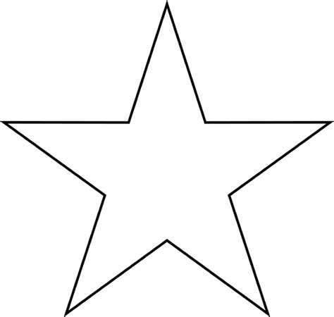 printable large star star clipart etc