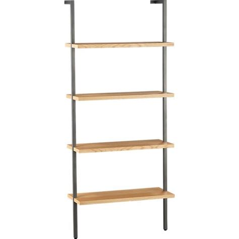 Helix Wall Mounted Bookcase Remodelista Wall Mounted Bookcase White