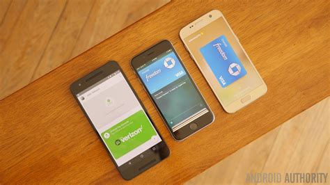 Android Vs Samsung by Android Pay Vs Apple Samsung Pay Android Authority