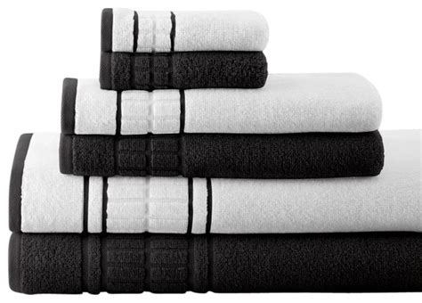 black and white bathroom towels bathroom white and black towels 13000 beach pertaining to
