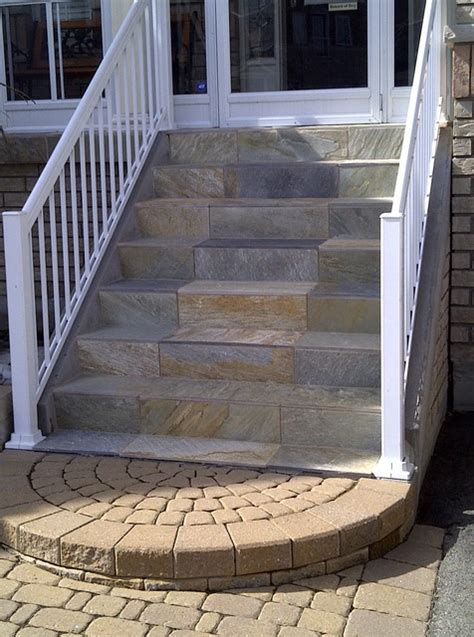 backyard stairs outdoor stairs contemporary exterior toronto by