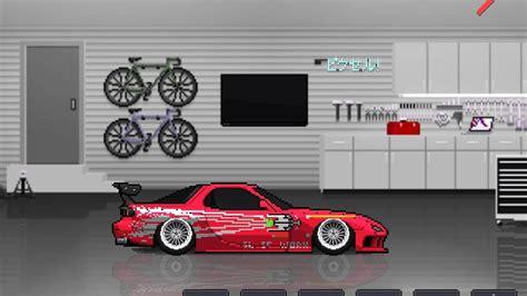 fast and furious cars vin diesel pixel car racer vin diesel rx7 fast furious youtube