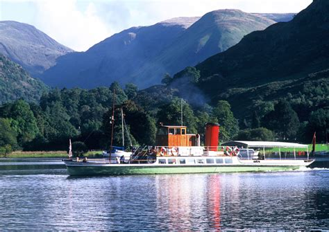 Ullswater Steamers in Cumbria   Those in the know visit