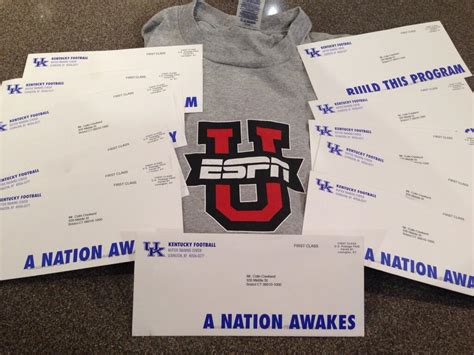 College Letter Of Intent Football Espn S Colin Cowherd Rips Stoops For Bulk Recruiting Letters So Stoops Sent Him 50