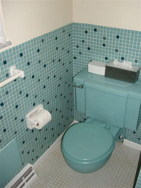 Bath And Kitchen Design scenes from 22 blue midcentury bathrooms retro renovation