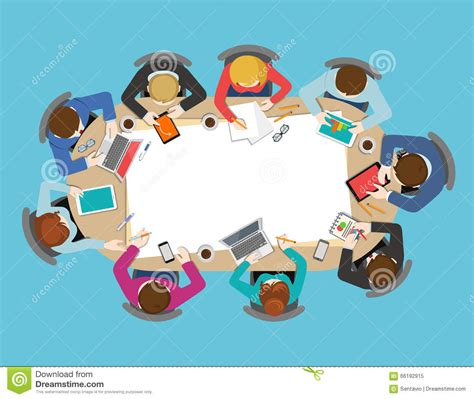 top 10 graphic of there a meeting in my bedroom dorothy office table top view business meeting flat vector