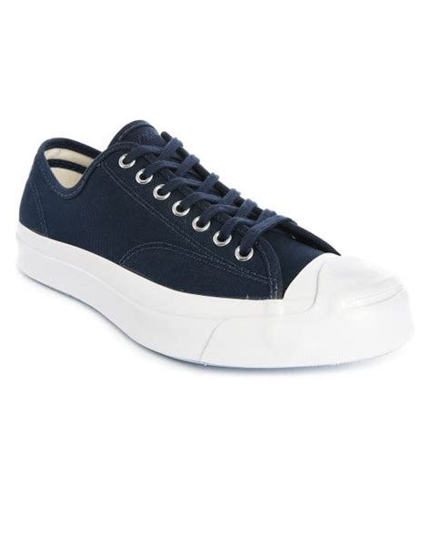 Converse Arizona Ox Midnight Blue converse purcell signature ox midnight blue white canvas sneakers in blue for save 50