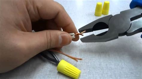 how to connect electrical wires together tutorial