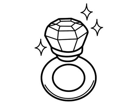 diamond ring coloring pages a diamond ring coloring pages