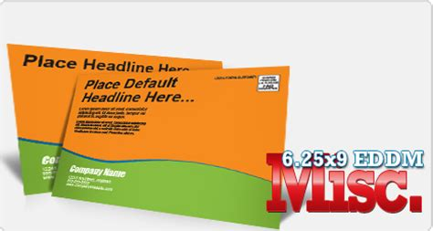 design every door direct mail template miscellaneous