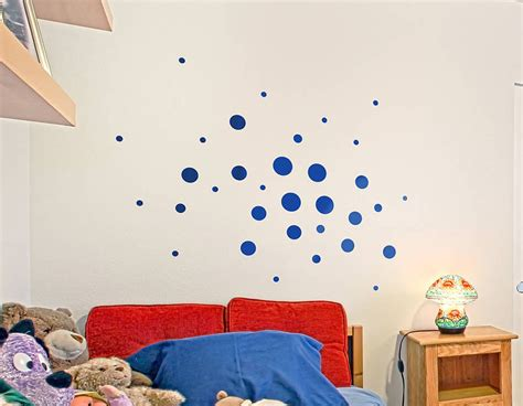 spotty wall stickers child s spotty wall sticker set contemporary wall stickers