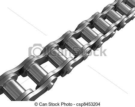 Bike Chain Outline by Drawing Of Bicycle Chain Bicyle Chain With Csp8453204 Search Clip Illustrations And Eps