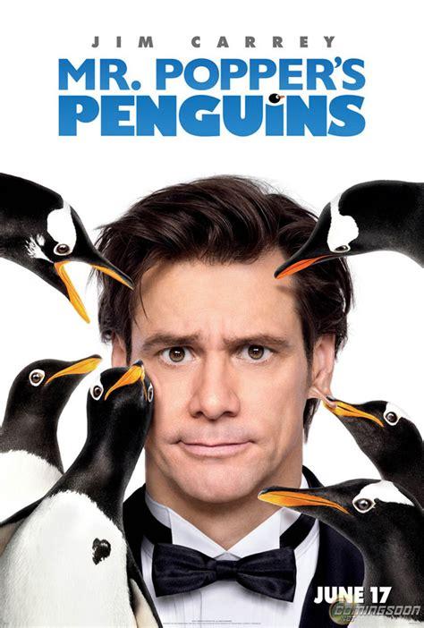 mr poppers penguins movie poster and trailer for mr popper s penguins geektyrant