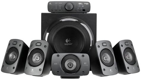 Speaker Logitech Z906 5 1 Speakers logitech z906 5 1 thx speaker system computer alliance