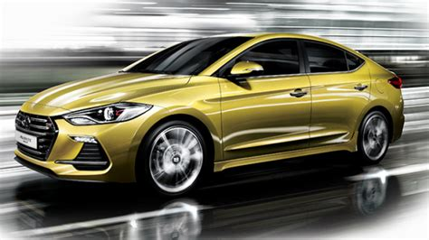 new hyundai 201 hyundai elantra sport likely to get 201 hp optional