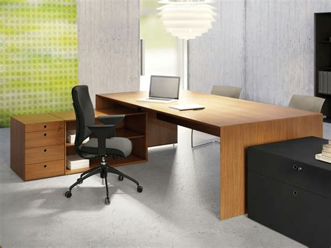 Teak Office Desk Quaranta5 Teak Office Desk By Fantoni