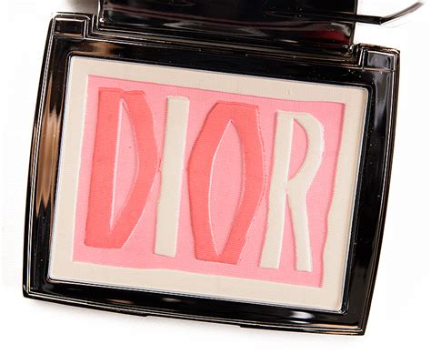 Diorblush Review by Intemporalle Blush Palette Review Photos Swatches