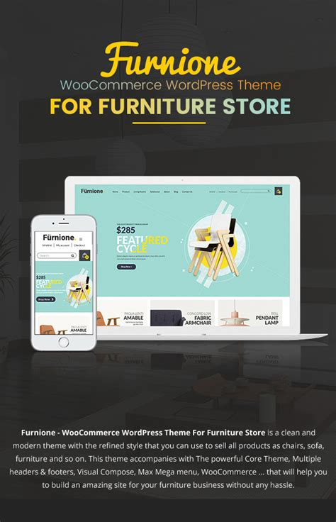 wordpress themes retail store furone furniture woocommerce wordpress theme retail