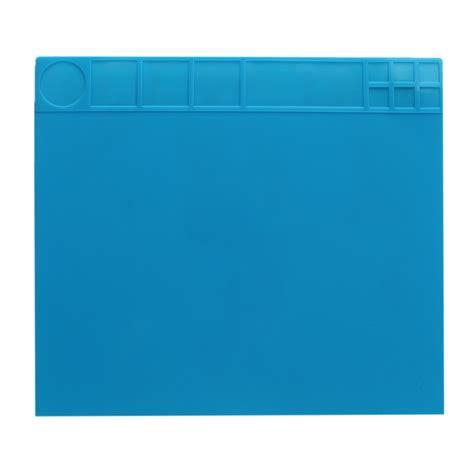 tappetino scrivania 35x40cm tappetino in silicone resistente al calore da