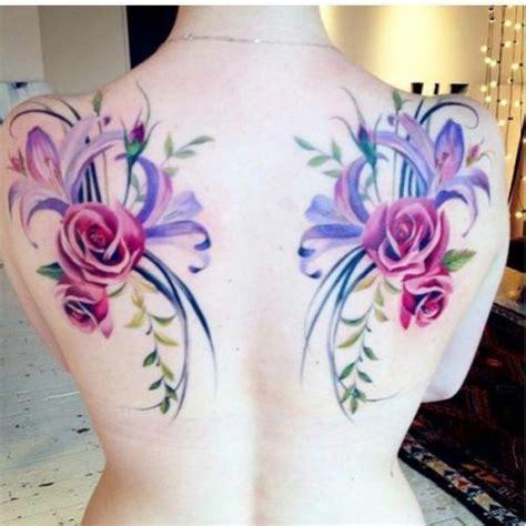 tattoo punggung tato bunga cliparts co